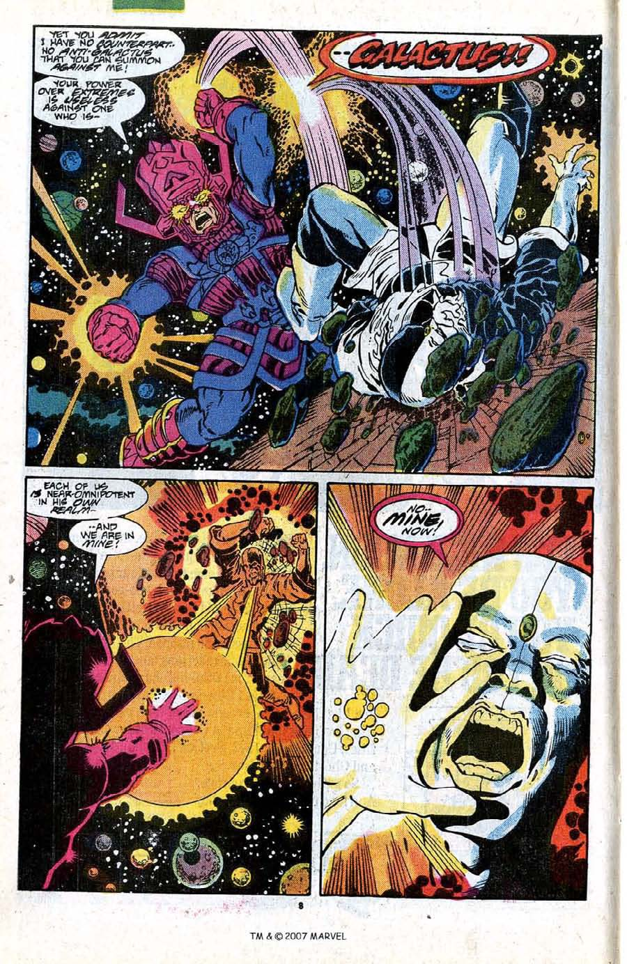 Read online Silver Surfer (1987) comic -  Issue #18 - 10