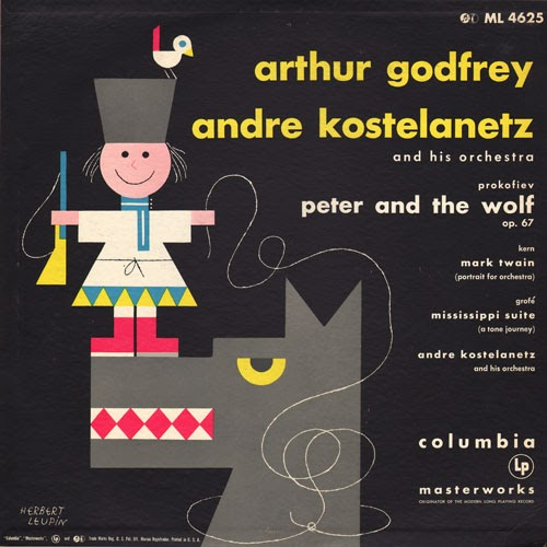 Peter And The Wolf Arthur Godfrey Columbia 1954