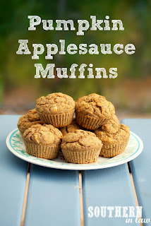 Healthy Pumpkin Applesauce Muffins Recipe Gluten Free