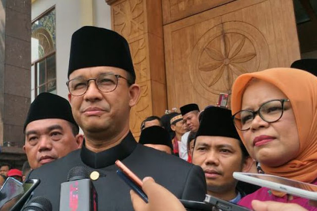 Anies: Ketua DPRD Selalu Kritik Gubernur, tapi Ketika ke Kali Item…