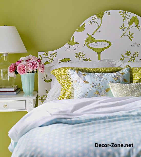 Bed Headboards Ideas To Make A Diy Headboard With Wallpaper Dolf Kruger