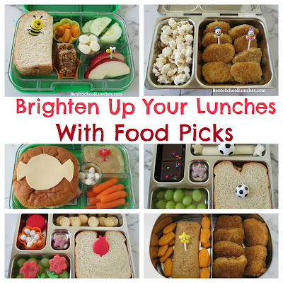 Brighten Up Your Lunches With Food Picks