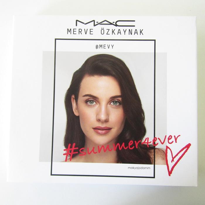 M.A.C x Merve Özkaynak #summer4ever Makyaj Seti