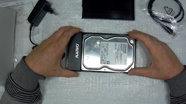 установка жёсткого диска