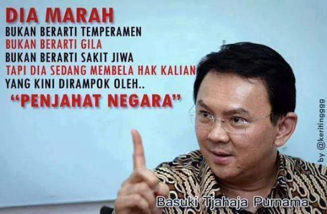 Inilah Kata Para Tokoh Indonesia Tentang Ahok…