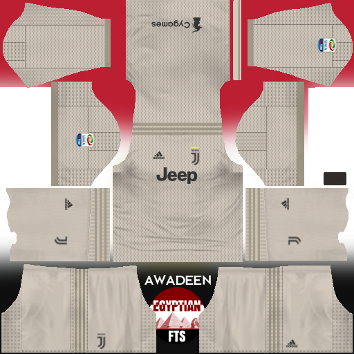 Juventus FC 2018/19 Kit & Logo | Dream League Soccer
