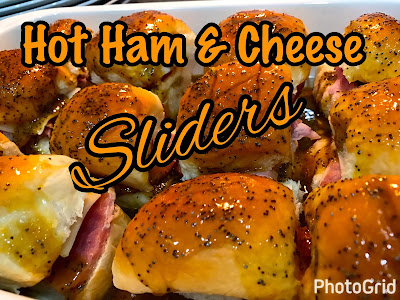 Hot Ham & Cheese Sliders