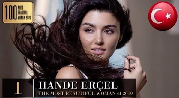2019'un En Güzel Kadını: Hande ERÇEL