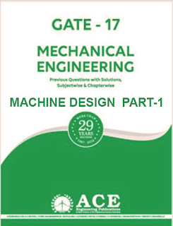 Download Ace Academy Machine Design Book GATE Study Material Part-1