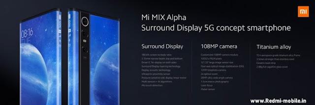 Mi Mix Alpha Specification