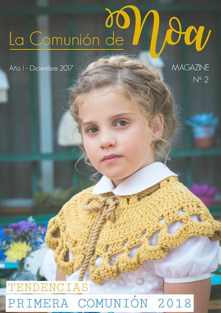 revista la comunion de noa magazine - tendencias comuniones 2018