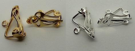 clip-on earring findings