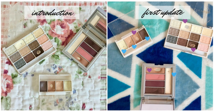 letmecrossover_blog_michele_mattos_blogger_pan_that_palette_challenge_update_kiko_makeup_forever_21_2017_gold_pink_golden_eyeshadow_look_of_the_day_face_highlight_pan_project_hit_empties_brown_lipstick_haul_review_milano