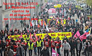 #LoiTravail : Toujours pour le retrait du projet de loi