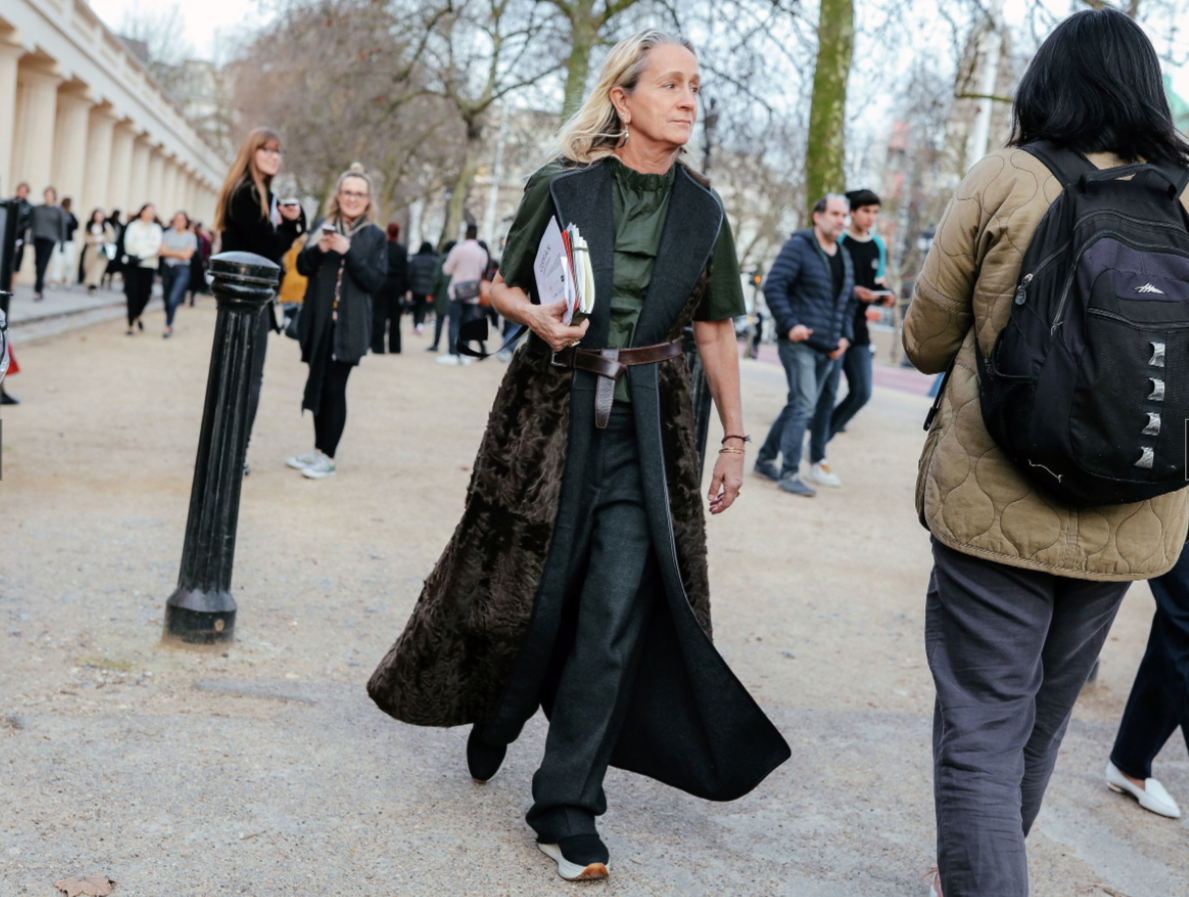 Lucinda Chambers, Vogue, fashion outfit ootd
