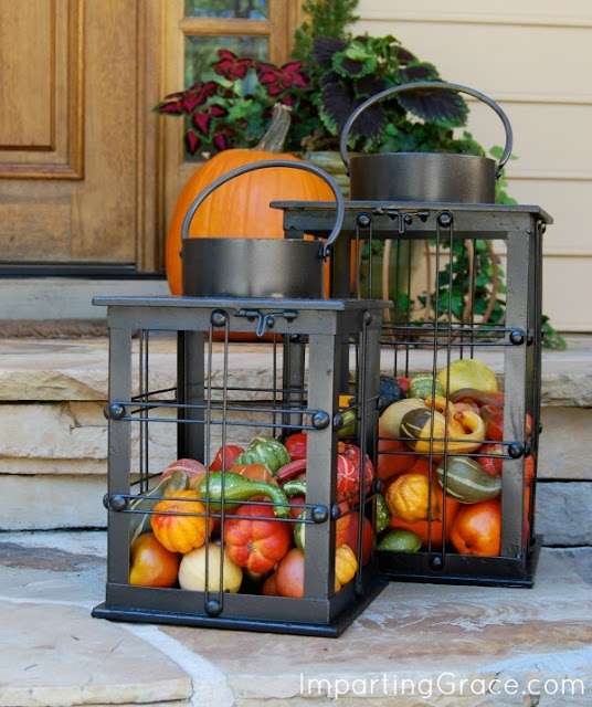 Imparting Grace: Easy Outdoor Decor For Fall