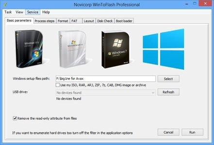 تحميل برنامج WinToFlash لحرق اسطوانات الويندوز على فلاشة USB للكمبيوتر