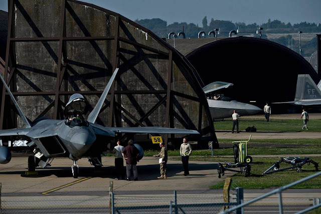 Increase flight activity RAF Lakenheath