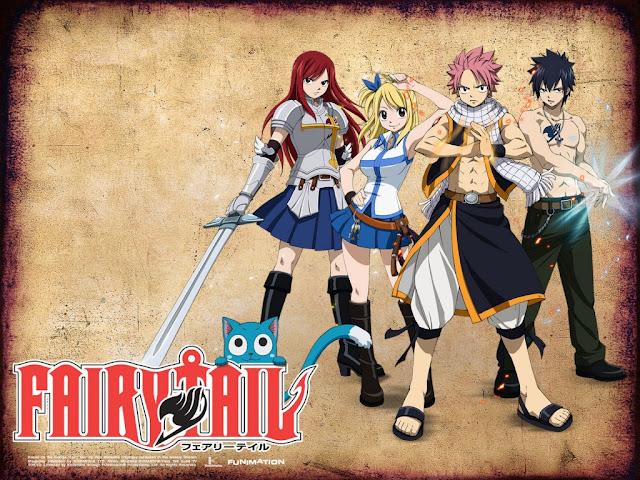 Fairy Tail (2009-2013) ταινιες online seires xrysoi greek subs