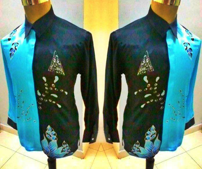 D'ZULHAZ DESIGN: Baju Batik Lelaki Maahad Tahfiz Daerah