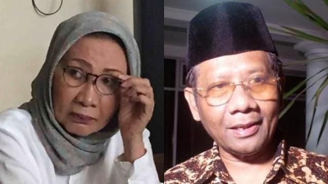 Telak Serangan Balik Prof. Mahfud MD Pada Nenek Sarumpaet, Bikin Hadirin di ILC Terdiam...