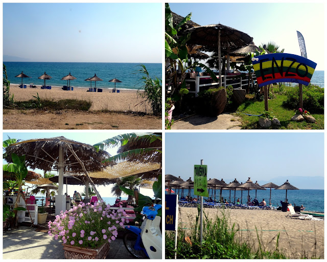 Kanali beach in Preveza