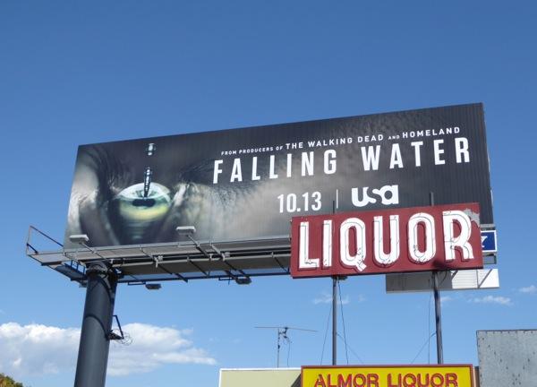 Falling Water series launch billboard