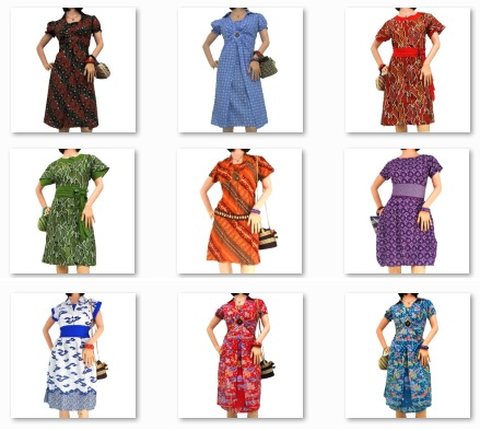 Model Baju Batik Dress Terbaru Grosir Baju Jawa