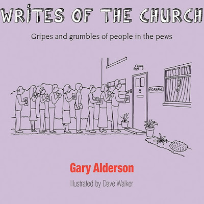 A queue of letter-carrying parishioners at the vicar's door