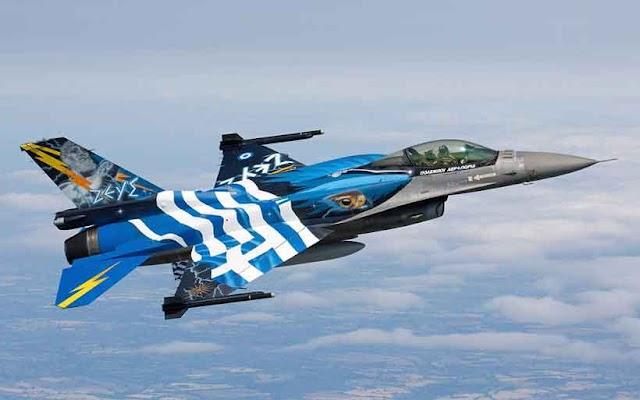 Greek jets mount NATO practice flights over Macedonia