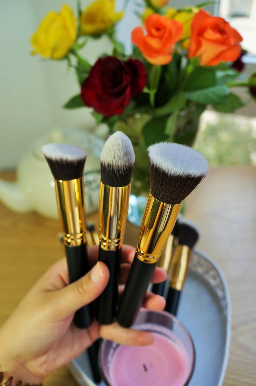 772d541f4c923 BH Cosmetics Sculpt   Blend Pinselset    Review + Daniel Wellington ...