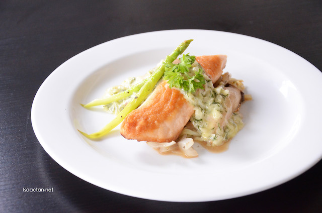 King Salmon with Dill Sauce (RM26)