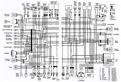 suzuki vs750 intruder motorcycle 1988 1991 complete electrical rh diagramonwiring blogspot com 1988 Suzuki Motorcycles Intruder 750 Fuel System Pictures