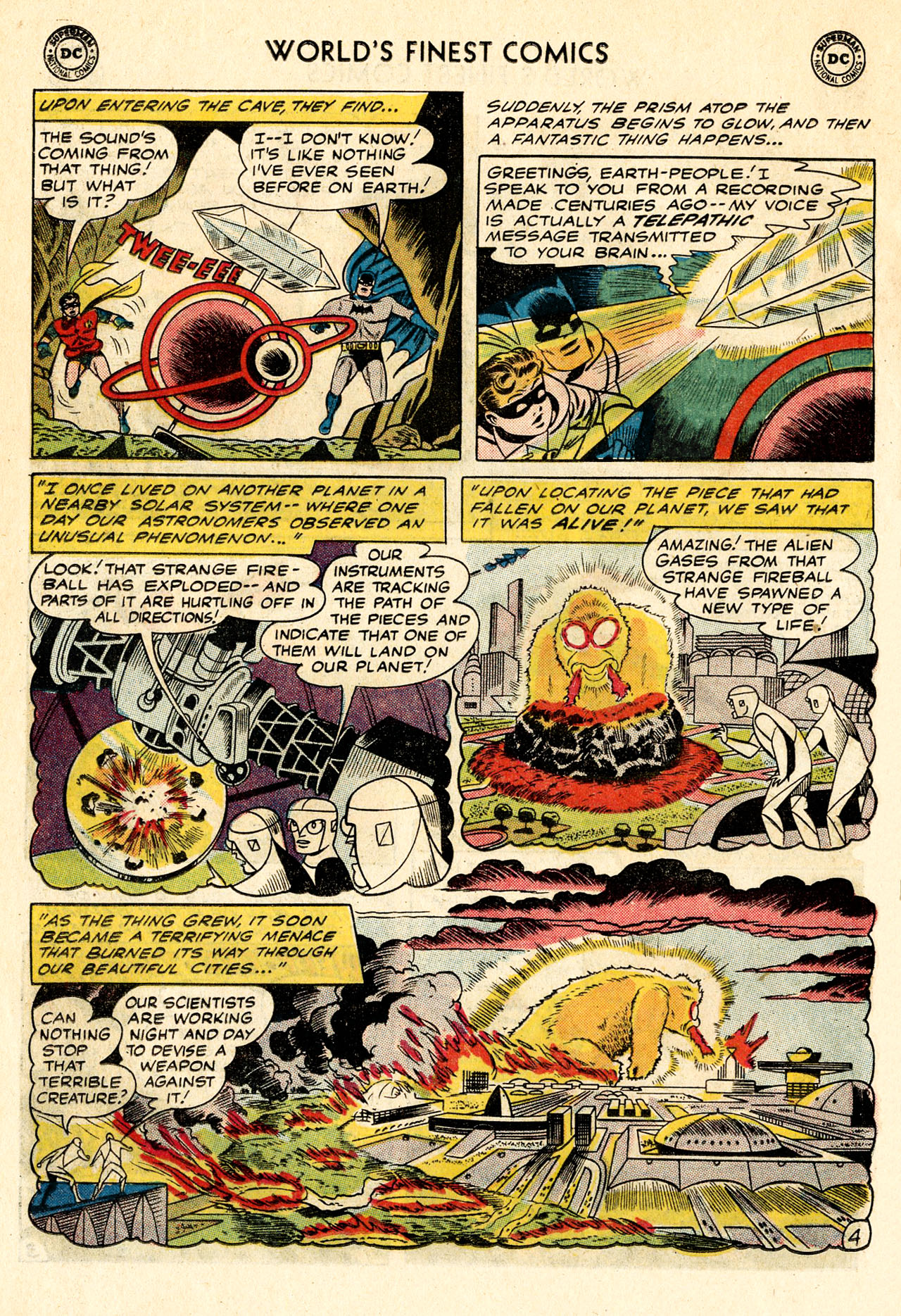 Read online World's Finest Comics comic -  Issue #107 - 6