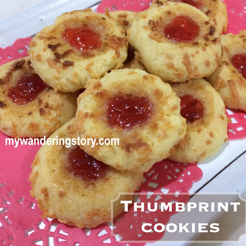how to make thumbprint cookies with icing