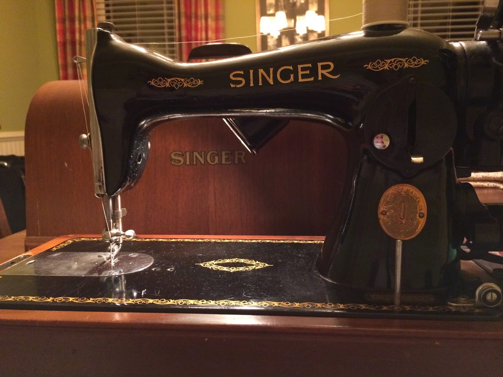 Butterfly Threads 1949 Singer Sewing Machine