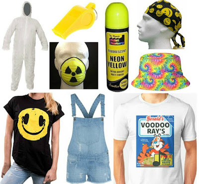 Acid House Clothes collage