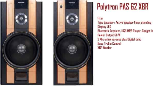 Harga Speaker Aktif Polytron PAS 62 XBR Bluetooth