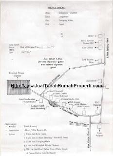 Jual tanah 1,5ha jln raya cipanas garut area wisata cipanas