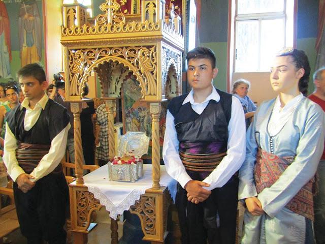Ένα Ποντιακό χωριό τίμησε μια μάρτυρα της Εκκλησίας από τον Πόντο