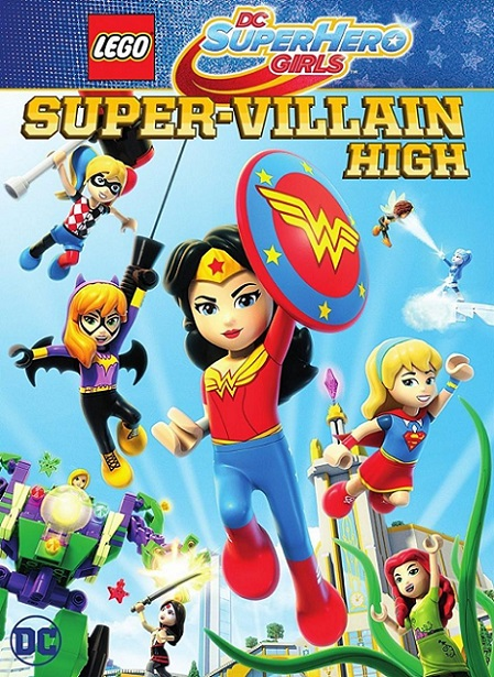 Lego DC Super Hero Girls Super-Villain High (2018) 720p y 1080p WEBRip mkv Dual Audio AC3 5.1 ch