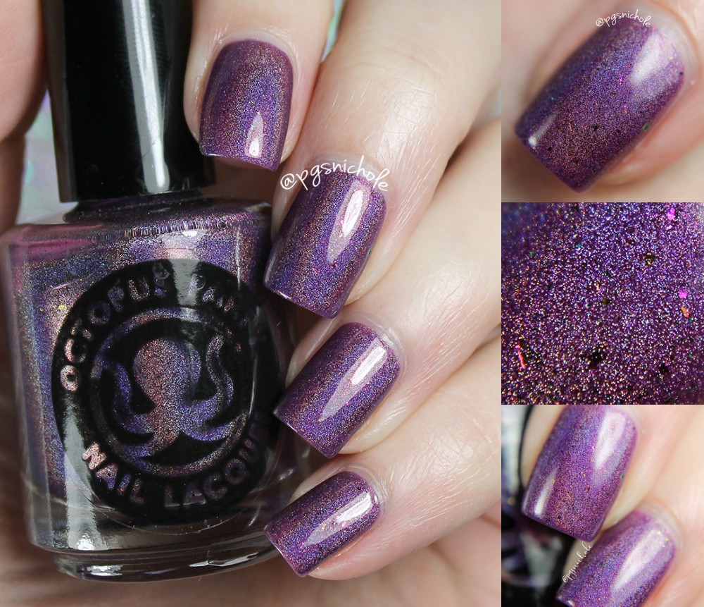 Bedlam Beauty: Octopus Party Nail Lacquer + Great Lakes Lacquer ...