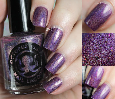 Octopus Party Nail Lacquer Justice | OPNL ♥ GLL Mardi Gras 2017