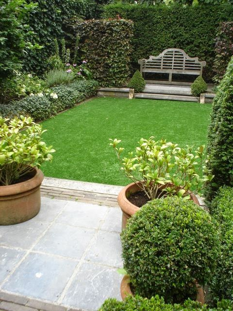 stylish garden
