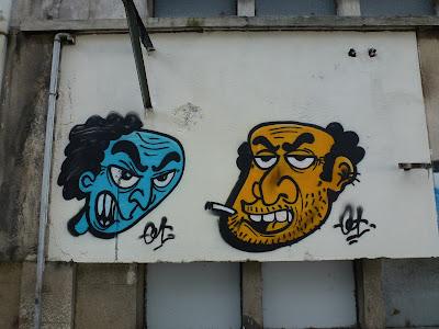 """2 x 2 - """"verärgert und erstaunt"""" - Lissabon, Hafen - hier: verärgert!"""