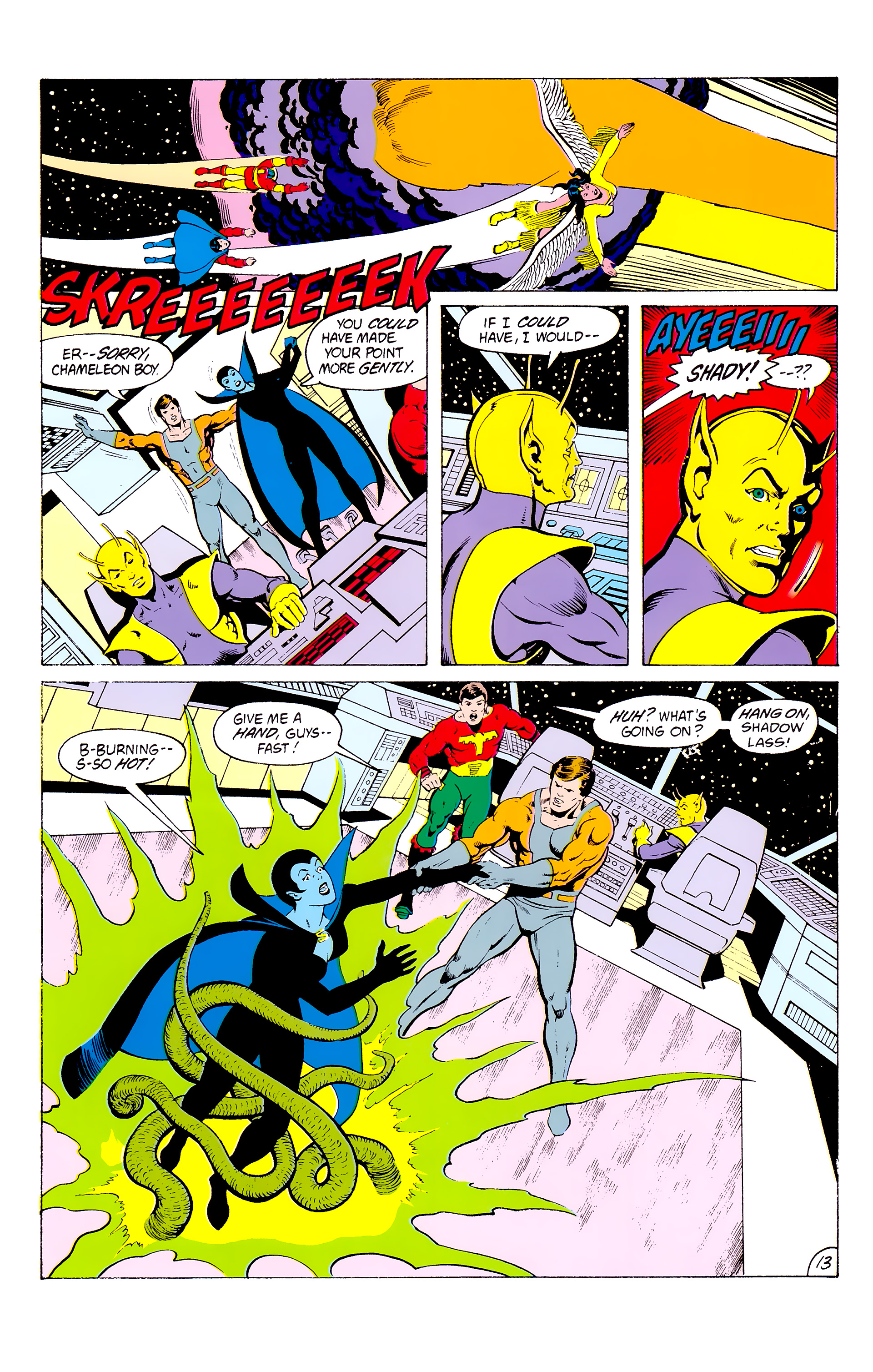 Legion of Super-Heroes (1980) _Annual_3 Page 13