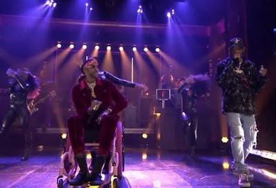 Watch - 2 Chainz Feat.Travis Scott with '4 AM' on Jimmy Fallon Show
