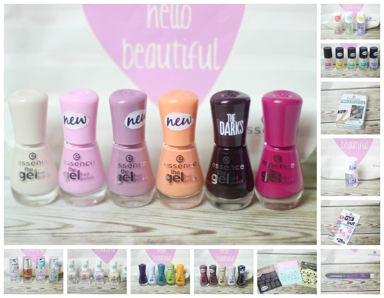essence Update Frühling/Sommer 2016: the gel nail polish, colour ...