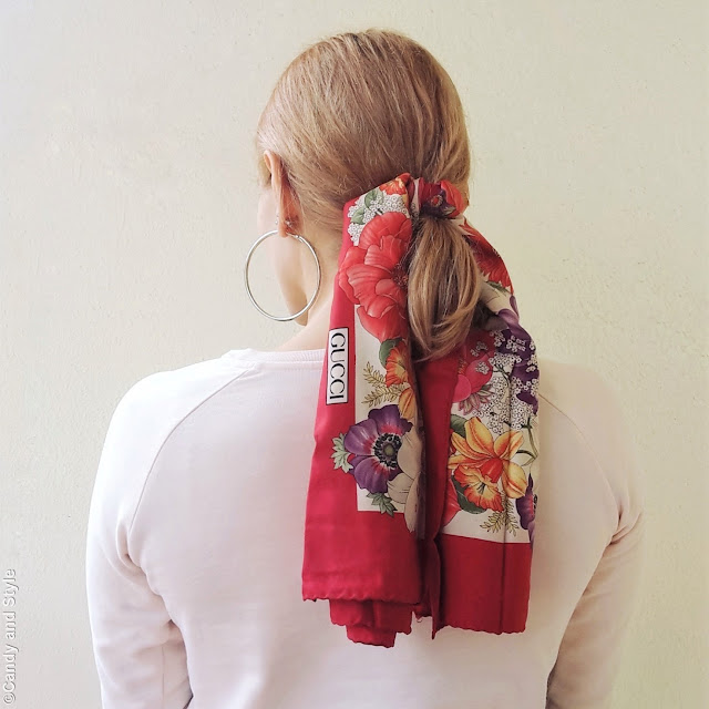 Ponytail Scarf | Candy and Style