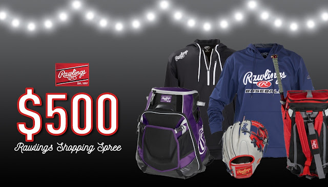 $500 Rawlings Shopping Spree Sweepstakes